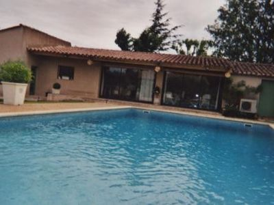 Photo for Rental house, very beautiful service, swimming pool 6/12 m, 50 m 2 pro.