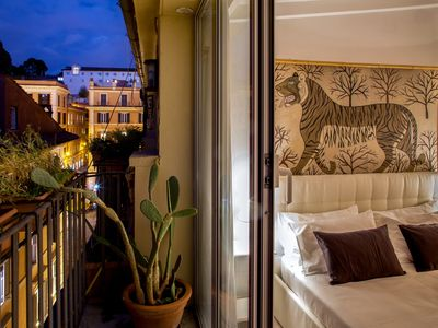 Photo for Tastefully renovated penthouse in Piazza di Spagna, full historical center of Rome