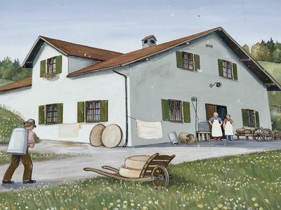 Photo for Exceptional holiday in a former cheese dairy in the foothills of the Alps / Allgäu