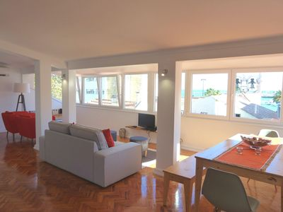 Photo for Cascais downtown apartment with sea view
