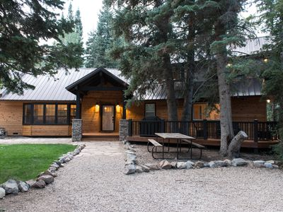 Photo for Secluded Midway Mountain Cabin near Park City