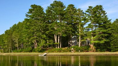 Photo for Sunlit Comfort on Private Waterfront - Complete Tranquility Minutes from Town