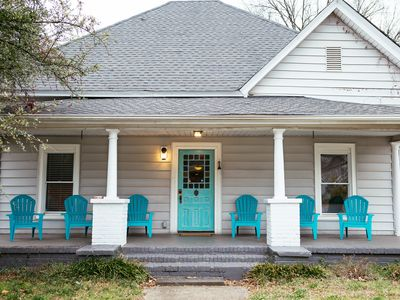 Photo for Historic Stained-Glass Cottage 1 mi from Downtown│Pet Friendly │Free Wi-Fi