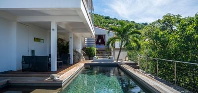 Casa Roc  -  Ocean View - Located in  Fabulous Gustavia with Private Pool