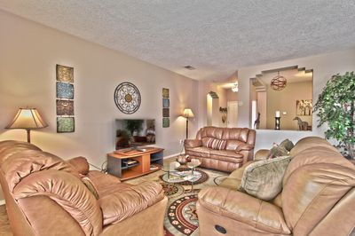 """Main Living Area with 40"""" TV"""