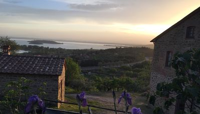Photo for Apartment for 4/5 Persons,  Amazing View on Trasimeno Lake