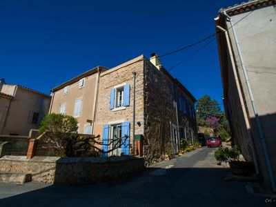 Photo for Embres. Vast, pretty traditional house, renovated stone, welcoming, superb area
