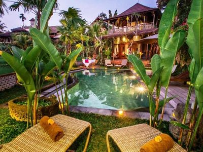 Photo for Luxury Suite Wooden with Stunning view in Ubud