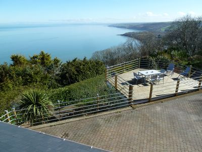 External decking area with exceptional views