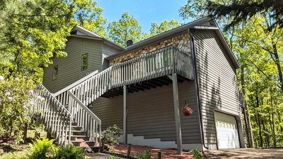 Photo for Cozy Mountain Song - NEW Massanutten Resort Home with Private Hot Tub!
