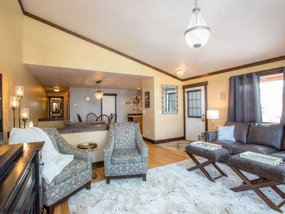Photo for Newly Remodeled Whitefish Townhome right near the golf course!! Sleeps 10!