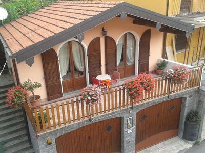 Photo for CHALET WITH POOL FOR 2 PEOPLE IN VALLEY ALBANO