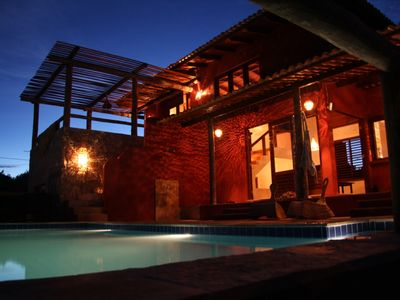Photo for Quiet dreamhouse in trendy Pipa, with private pool and oceanview