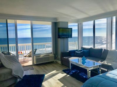 Photo for HIGH END DIRECT OCEAN FRONT CONDO WITH PRIVATE BALCONY & OCEAN VIEW