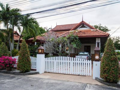 Photo for Tropical House: 3 bedrooms, Kamala