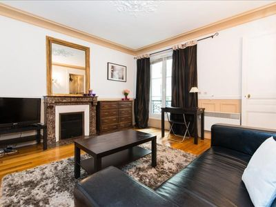 Photo for Lauriston Studio apartment in 16ème - Bois de Boulogne - Trocadero with WiFi & lift.