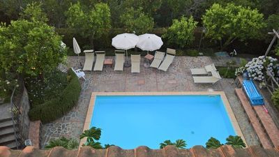 Photo for Lusal (B) pretty apartment located in a complex with shared pool Sorrento Coast