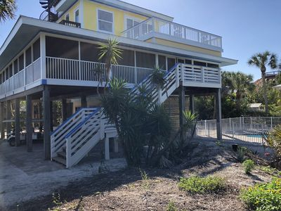 Photo for The Maine Deck - New Owners - Breathtaking Views -New Pool- Steps to the beach!