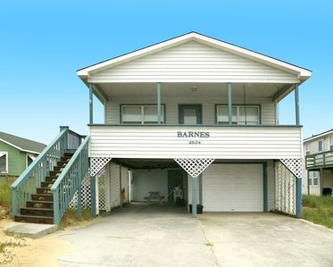 Photo for FRONTS BEACH ROAD- 3 BRs (1 Master), Pool Table, Dog Friendly, 90 Ft to Beach