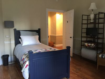 Photo for Rm 203 Twin And Twin Trundle Bed Includes Breakfast c.1790 Historic Home