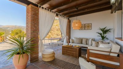 Photo for Holiday home with lovely terrace between Torrox and Frigiliana