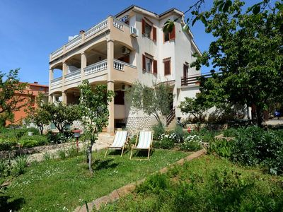 Photo for One bedroom apartment with terrace and sea view Zadar - Diklo (Zadar)