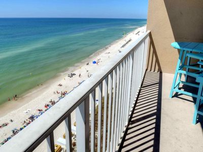 Photo for Large unit located on the 8th floor, free Wifi, indoor pool and spa 1/2 mile to Pier Park. Tidewater