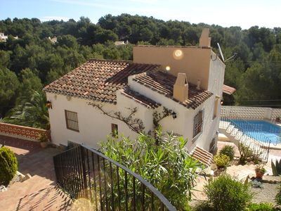 Photo for This 2-bedroom villa for up to 4 guests is located in Javea and has a private swimming pool.........
