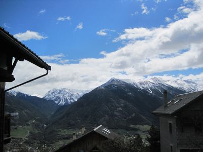 Photo for 2 room apartment in village house overlooking Briançon