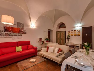 Photo for Apartment with wellness and garden for 9 people close to Navona Square