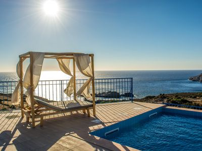 Photo for Villa Irene traditional with private pool offering privacy and amazing views!