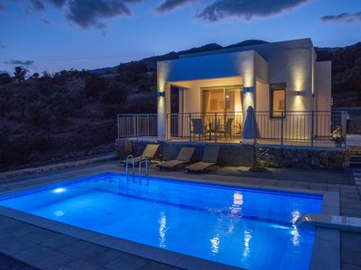 Photo for Villa with pool,South Crete, Great views, Close to Amenities, Breakfast included