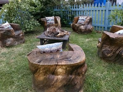 The hottest fire pit area EVER!
