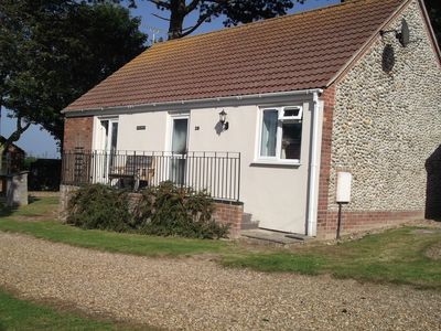 Photo for DETACHED LUXURIOUS COTTAGE, SEA VIEW, PEACEFUL LOCATION, 10 MINS WALK TO BEACH