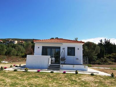 Photo for Stunning private villa for 4 people with A/C, WIFI, TV and parking