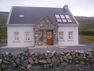 Photo for Craggy Cottage beside Fanore Beach in the Burren on the Wild Atlantic Way