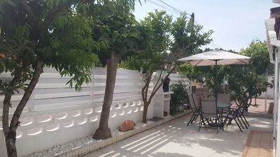 Photo for Perfect condition house, very quiet area at 750m beach, near supermarkets.