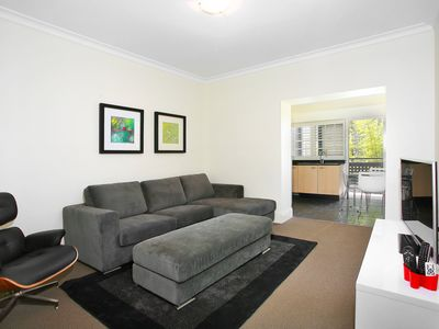 Photo for 2BR Art Deco Potts Point Apartment with Views from the Balcony