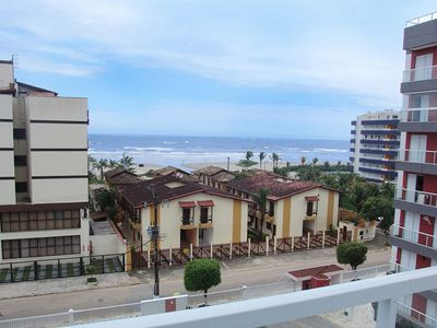 Photo for Apartment 50 m from the beach, 4th floor, overlooking the sea and mountains.