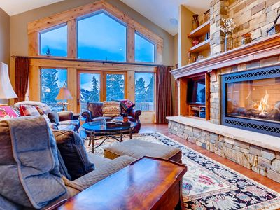 Photo for FREE SkyCard Activities - Ski Area Views, Private Hot Tub, Gas Fireplace - Nangle Woods Retreat
