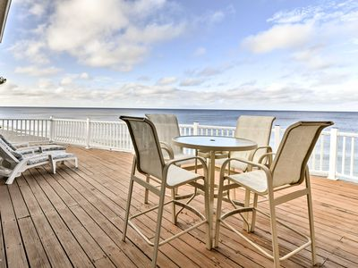 Photo for Spacious Englewood House w/Deck - On The Beach!