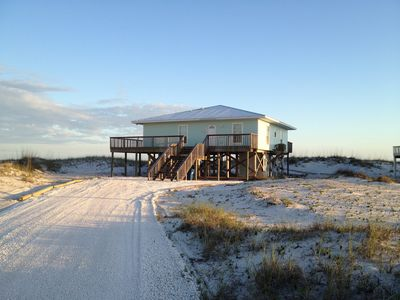 """Photo for """"TWO VIEWS"""" West Beach Blvd. Gulf Front Beach House"""