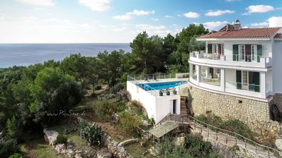 Photo for 15% DISCOUNT OFFER IN JUNE Luxury Villa with private pool and sea views