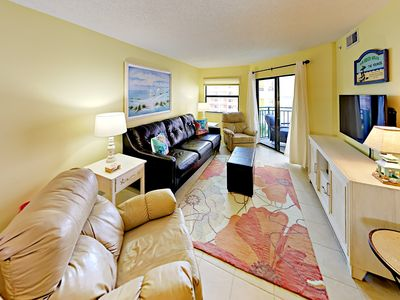 Living Room - Your condo is professionally managed by TurnKey Vacation Rentals.