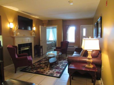 Photo for Condo Great for 2 couples or a family walk to Town Mountain View Wifi pool