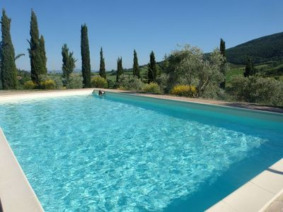 Photo for Two Bedroom Ground Floor Apartment San Gimignano   Allodole G is a characteristic apartment on a lovely