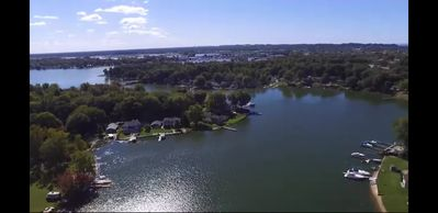Water way from you dock to Lake Michigan and Spring lake 7 mile lake go fast!