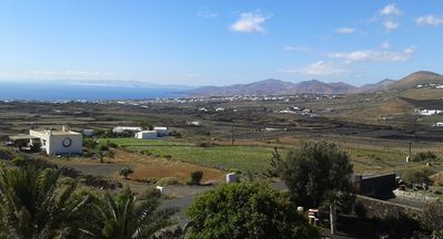 Photo for Panoramic views of sea and mountains, in Conil, near the wine route.