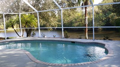 Photo for Jumpin Fish Cottage Electric Pool Heat* Waterfront Preserve Spectacular Wildlife