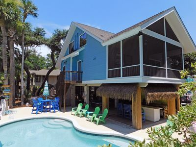 Photo for 8 Osprey - Oceanviews from porch, 25 steps to the beach & Fido Friendly